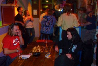 Flying Pig Beach Hostel in Noordwijk, cheap accommodation and parties